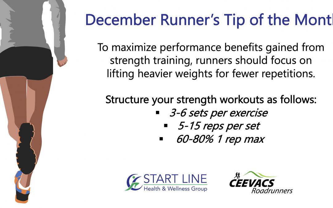 Startline Runner's Tip of the Month:
